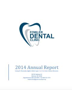 FowlerDentalClinicAnnualReport2014